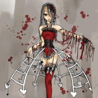 Laced With Blood by Sepia-Heart