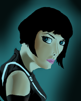 Qourra From Tron Legacy by acdramon