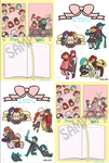 P3 PALentine's Day Notebooks (pre-order) by OmiOhMy