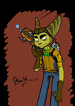 Ratchet and Clank X Gorillaz by EthanH23