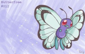 Butterfree by A-Psycho-Banana