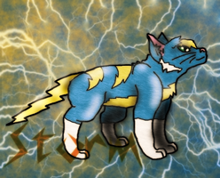 Storm the Thundercat by SuperSonicFireDragon
