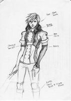 Lightning Returns: FANART costume by rockafellou
