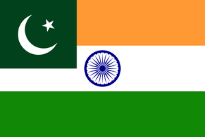 Combined flag of language: Hindustani by hosmich