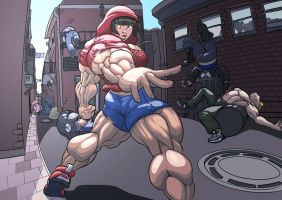 Streetfight by ayanamifan