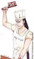 Kiss-the-cook by ChrisTais