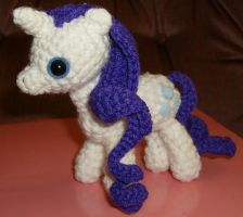 Rarity Amigurumi by mistakenolive