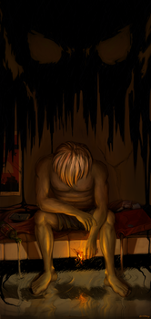 Suicidal Depression by ExCharny