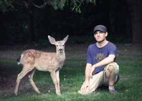 Chillin with Bambi by shawnstorm