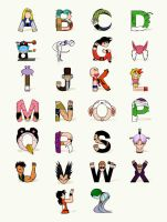DB Alphabet by Lish0ffs