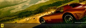 Ferrari GTO Outdoor by aash