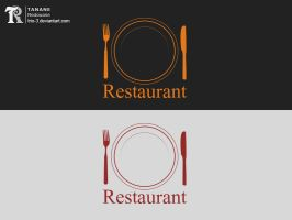 restaurant logo by TRIO-3