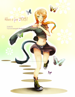 Race to 2013 by Tammi-sempai