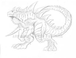 Zilla redesign by AlmightyRayzilla