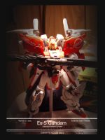 Ex-S Gundam model by shanku