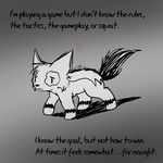 Single Player is Difficult by DragonwolfRooke