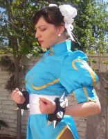 Chun Li Cosplay Raising Chi by keidashu