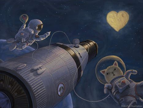 The Secrets of Hearts: The Moon Heart by GATTACALIN