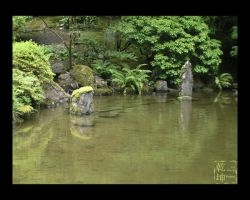 JapaneseGardens-Drowned Stones by lilith-darkmoon