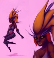 WCD3- Bird of Paradise by AmourFonce