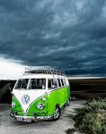 VW camper van by adamduckworth