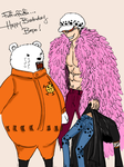 Happy Birthday Bepo, from Doffy by ishxallxgood