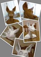 Maquette WIP Progress Fox by Rasiel-Draconis