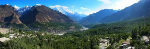 Hunza valley by OmerTariq