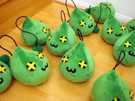 MapleStory Plush Slimes 5 by TheCurseofRainbow