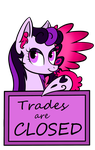 Custom Stamp: Trades are CLOSED by Winter-Hooves