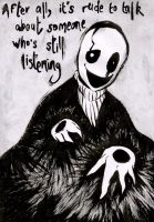 WD Gaster by WhatItMeansToBeHuman