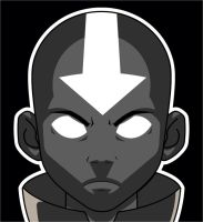 Aang Vector by BiggStankDogg