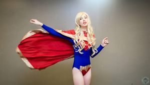 Glam Supergirl by MeganCoffey