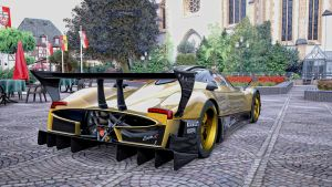 Gold Zonda R by whendt