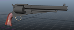 1858 Remington Colt with Conversion WIP by Atalix