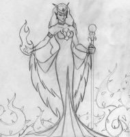 The Magnificently Malevolent Queen Beryl by echelonangel15