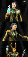 Custom Avengers Movie Loki with wispy hair tips by Jin-Saotome