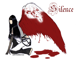 Silence +Colered+ by xxkissedxmusicxx