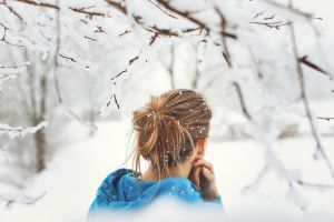 to embrace the cold that comes after by Rona-Keller
