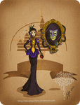 Disney steampunk: Evil queen by MecaniqueFairy
