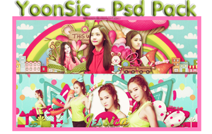 [Free] YoonSic - PSD PACK by EliKwon