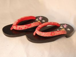 Japanese Geta 01 by maiko-stock