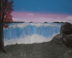 The Falls of Remembrance by CharlesADowdrick