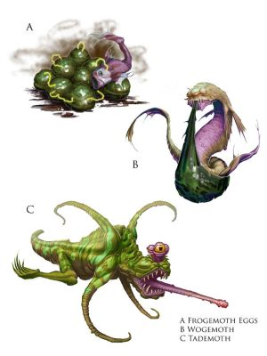 Frogemoth Life-cycle for KQ12 by MichaelJaecks