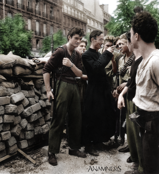 French resistance, 1944 by Anamnesisss
