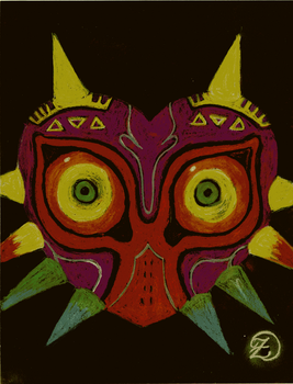 Majora's Mask by kittyzir3