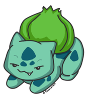 001 Bulbasaur by reika-world