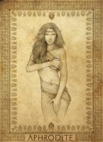 Greek Mythology - Aphrodite by LathronAniron