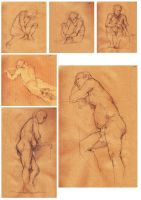 Final term life drawing collection 1 by tr1ff1d