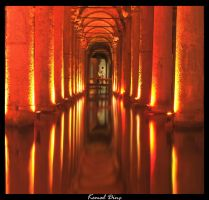The Basilica Cistern by TuRKoo